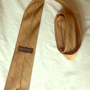Men's vintage Yves Saint Laurent neck tie